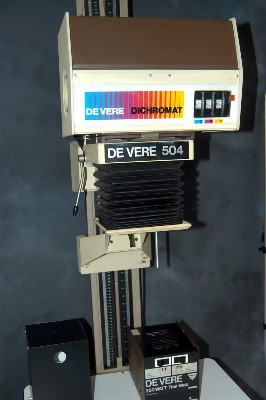 DE VERE 504 DICHROMAT BENCH ENLARGER***