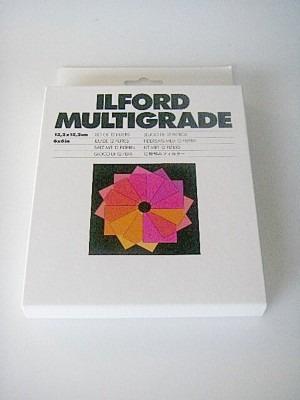 ILFORD MULTIGRADE FILTERS (6X6in) NEW