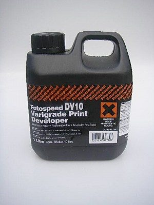 FOTOSPEED DV10 VARIGRADE 1lt PRINT DEVELOPER