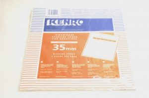 KENRO 35mm TRANSLUCENT(paper) STORAGE NEGATIVE PAGES 25 SHEETS