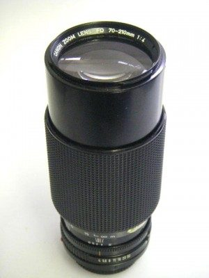 CANON FD 70-210mm f4 LENS**