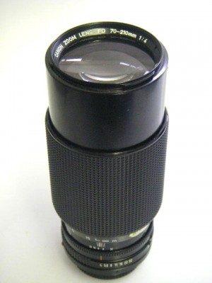 CANON FD 70-210mm f4 LENS**