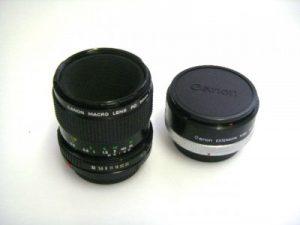 CANON MACRO FD 50mm f3.5 LENS & ENTENSION TUPE FD25***