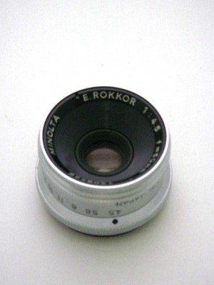 MINOLTA 50mm E.ROKKER F4.5