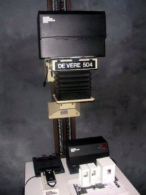 DE VERE 504 BENCH ENLARGER+ ILFORD 500 MULTIGRADE SYSTEM***