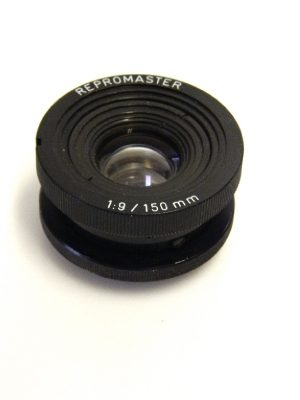 REPROMASTER 150mm f9 LENS ***