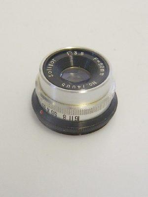 SOLIGOR 50mm f3.5 LENS***