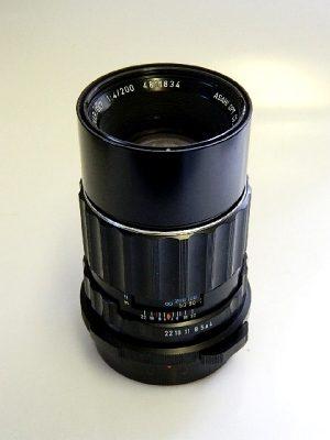 PENTAX TAKUMAR 6X7 200mm f4 LENS***