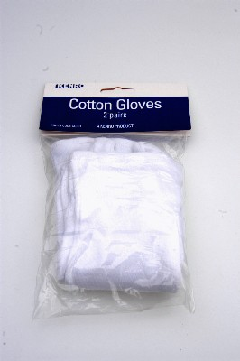 KENRO 2X PAIR OF COTTON GLOVES