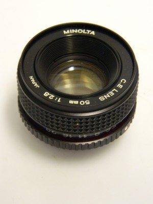 MINOLTA C.E.ROKKOR 50mm f2.8***