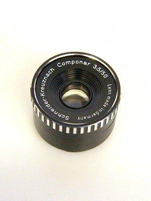 SCHNEIDER COMPONAR 50mm f3.5**