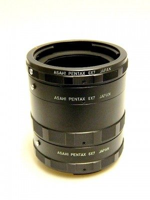 PENTAX 67 AUTO EXTENSION TUBE SET***