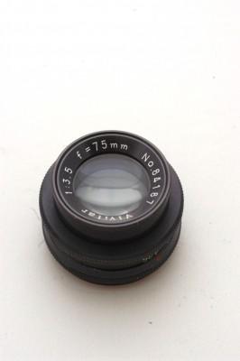 VIVITAR 75mm f3.5 LENS***