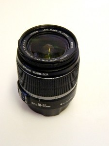 CANON IS EF-S 18-55mm f3.5-5.6 image stabilizer LENS***