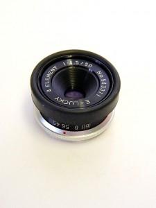 E-LUCKY 50mm f4.5 LENS***