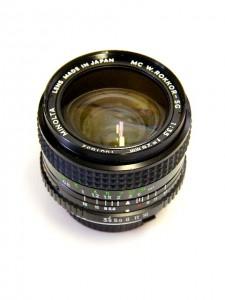 MINOLTA MC W.ROKKOR-SG 28mm F3.5 LENS***