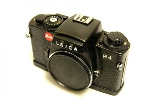 LEICA R4 BLACK***
