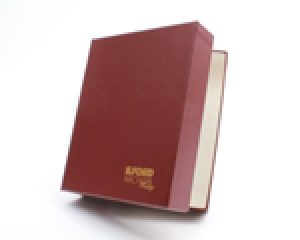 ILFORD ARCHIVA PRESTIGE-PORTFOLIO BOX-BURGUNDY-20X24