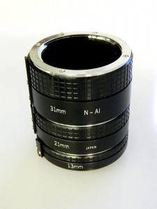 JESSOPS AUTO EXTENSION TUBE SET***