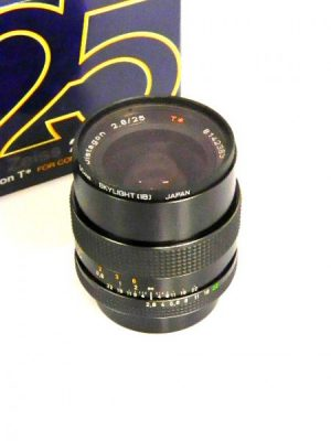 CARL ZEISS 25mm DISTAGON T f2.8 LENS***