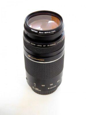 CANON EF 75-300mm f4-5.6 USM LENS***