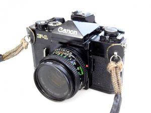 CANON F1 +50mm f1.8 LENS***