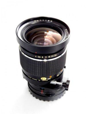 MAMIYA 645 50mm C f4 SHIFT LENS***