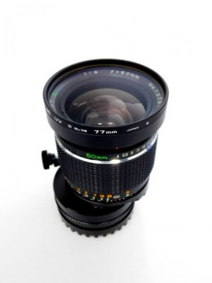 MAMIYA 645 50mm f4 SHIFT LENS***