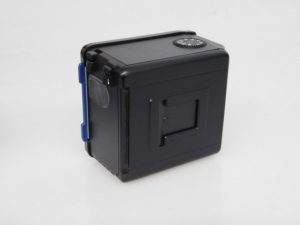 MAMIYA 645 PRO 120 BACK BLUE DARK SLIDE INC CASE ***