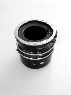 MAMIYA 645 EXTENSION TUBE SET**