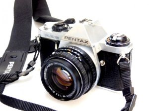 PENTAX ME SUPER + 50mm f1.7 LENS***