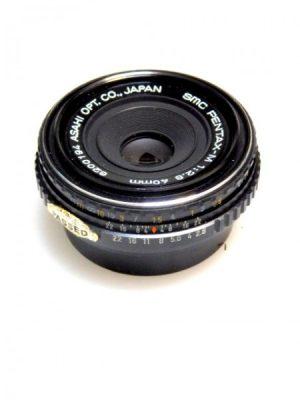 PENTAX SMC 40mm PANCAKE f2.8 M LENS***