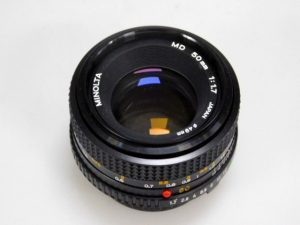 MINOLTA MD 50mm f1.7 LENS***