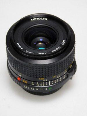 MINOLTA MD 28mm f2.8 LENS***