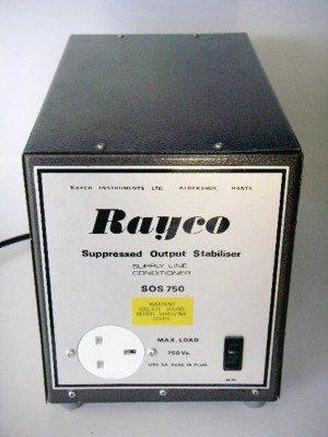 RAYCO STABILISED SOS750 TRANSFORMER***