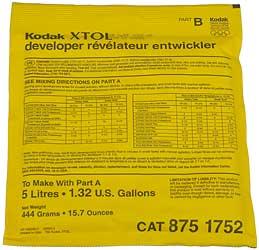 Kodak XTOL Powder, 5 litres