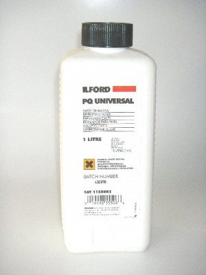 ILFORD PQ UNIVERSAL PAPER DEVELOPER 1lt