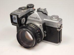 MINOLTA SR-1s + meter attachment 55mm f2***