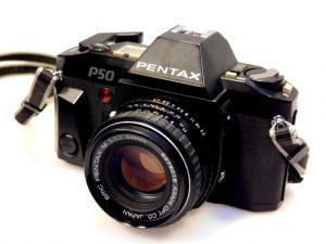 PENTAX P50 CAMERA+50mm f1.7 LENS***