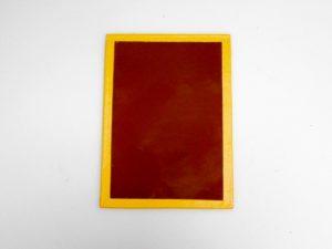 ILFORD 5X7″ GLASS S 902 LIGHT BROWN SAFELIGHT FILTER***
