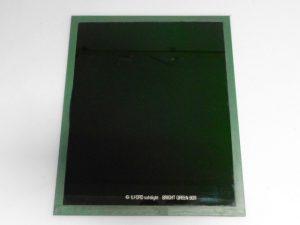 ILFORD 10X12″ GLASS BRIGHT GREEN 909 GREEN SAFELIGHT FILTER***