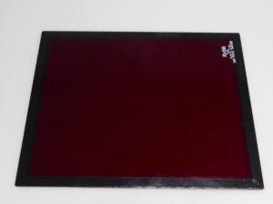 KODAK 8X10″ GLASS NO. 1A LIGHT RED SAFELIGHT FILTER***