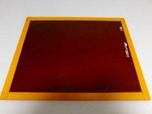 ILFORD 8X10″ GLASS S 902 LIGHT BROWN SAFELIGHT FILTER***