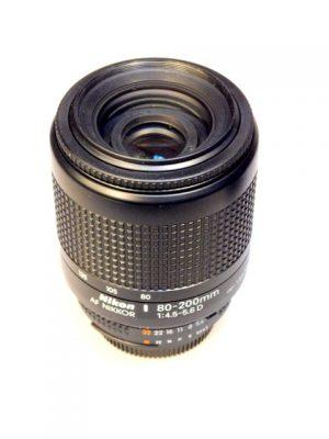 NIKON AF NIKKOR 80-200mm f4.5-5.6 D LENS***