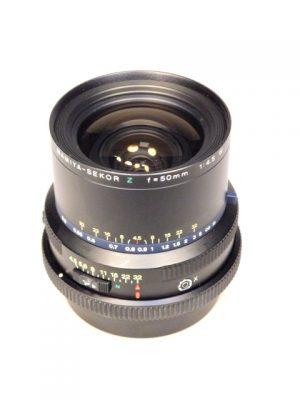 MAMIYA RZ 50mm f4.5 W LENS***