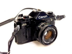 CANON A1+50mm f1.8 LENS***