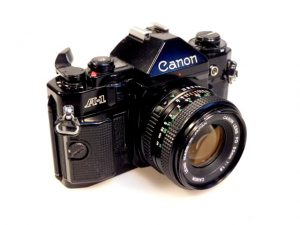 CANON A1+50mm f1.4 LENS***