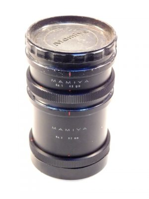 MAMIYA RB EXTENSION TUBES**