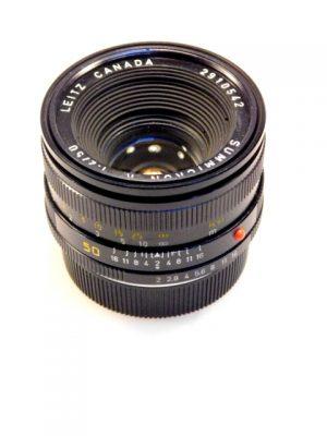 LEITZ SUMMICRON-R 50mm f2 LENS***