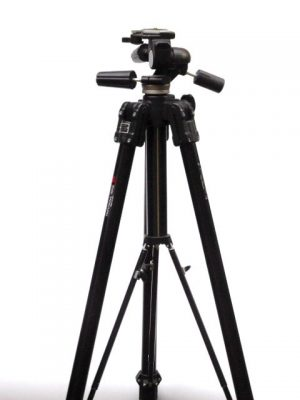 MANFROTTO 161B WITH MANFROTTO THREE-WAY HEAD***